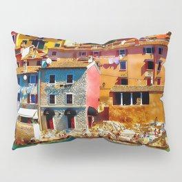 Houses at Coast Pillow Sham