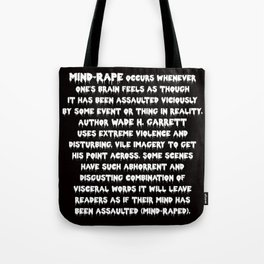 Mind-Rape Tote Bag