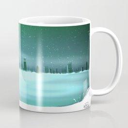 City winterscape Coffee Mug