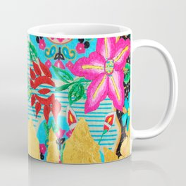 Gold Dipped Boho Serape Dream Coffee Mug