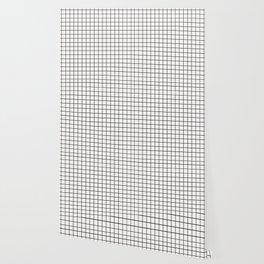 White & Black Grid Wallpaper