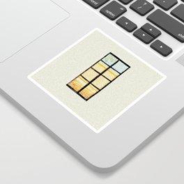 Window to the world Sticker
