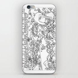 """Valparaiso"" Illustration Shyle Zalewski iPhone Skin"