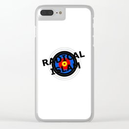 Radical Islam Target Clear iPhone Case