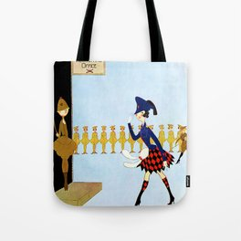 """""""Recruiting Office"""" by Annie Fish Tote Bag"""