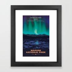 Wapusk National Park Poster Framed Art Print