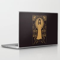 bjork Laptop & iPad Skins featuring Reine des Cygnes (Gold) by Florent Bodart / Speakerine