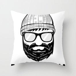 Brooklyndia 2 Throw Pillow