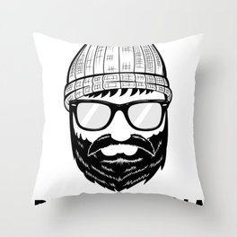 Brooklyndia 2 Throw Pillow