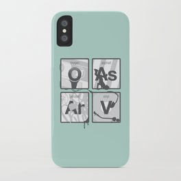 Elements of Hip Hop iPhone Case