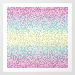 Glitter Graphic G48 Art Print