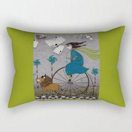 I Follow the Wind Rectangular Pillow
