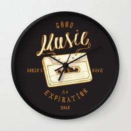 Good Music Cassette Wall Clock
