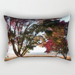 Australian Autumn Landscape Rectangular Pillow