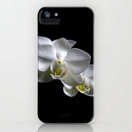 Low key orchids... iPhone Case