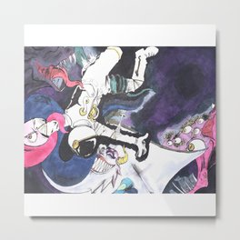 SpaceManDan Metal Print