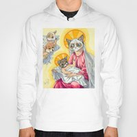 internet Hoodies featuring Internet Christ  by Quigley Down Under