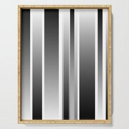 Color Black gray Serving Tray