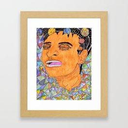 Zoning Out Framed Art Print