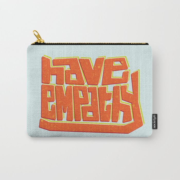 Blocky Have Empathy Carry-All Pouch