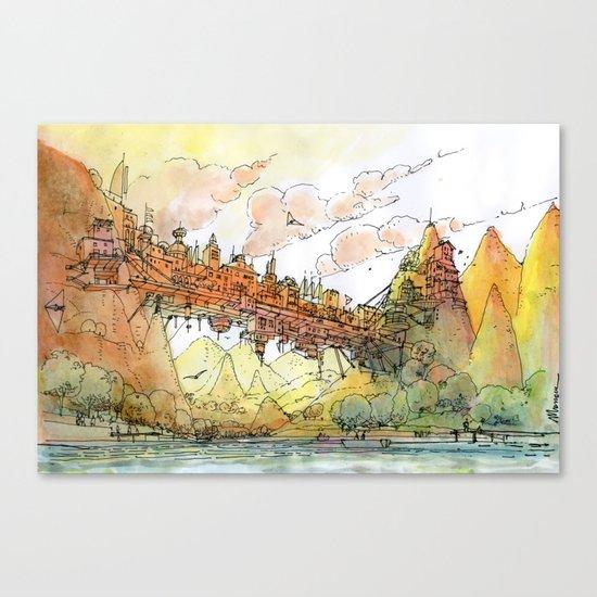 La Citta' Ponte Canvas Print