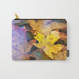 Bigleaf Maple Leaves Carry-All Pouch