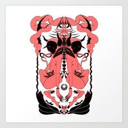 PINK GAIA Art Print