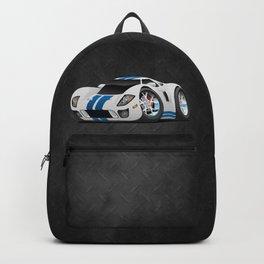 American Supercar Cartoon Backpack