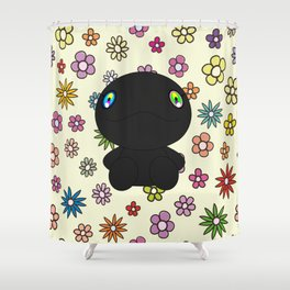 Che in flowers Shower Curtain