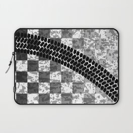 Flag Skid Mark Laptop Sleeve
