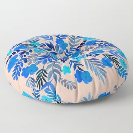Floral Mondala Floor Pillow