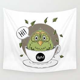 A Cup of Cuteness Wall Tapestry