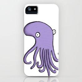 Purple Octopus iPhone Case