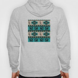 American Native Pattern No. 127 Hoody