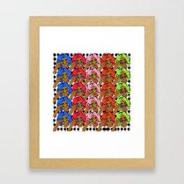 CocoPop Framed Art Print