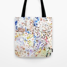 Mosaic of Barcelona VIII Tote Bag