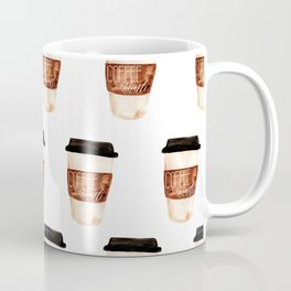 Coffee and Hustle on the Go Coffee Mug