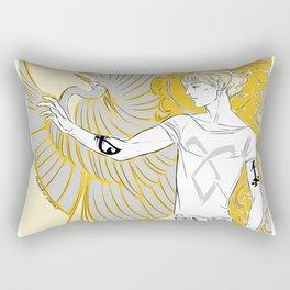 golden boy Rectangular Pillow