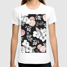 Night bloom - moonlit flame T-shirt