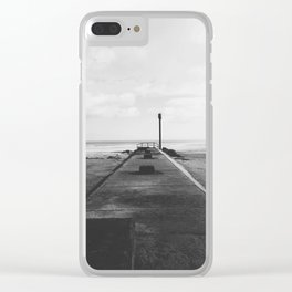 Anderby Beach Beacon II Clear iPhone Case