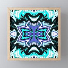 Fluid Abstract 04 Framed Mini Art Print