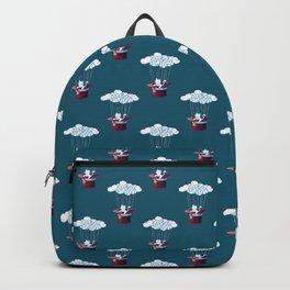 Traveler Cat Pattern Backpack