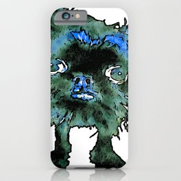 Lugga The Friendly Hairball Monster For Boos iPhone Case