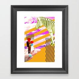 love strokes Framed Art Print