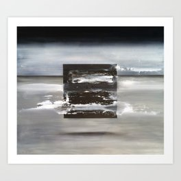 Matrix (oil on canvas) Art Print