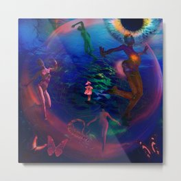 Ecology Dancer Metal Print