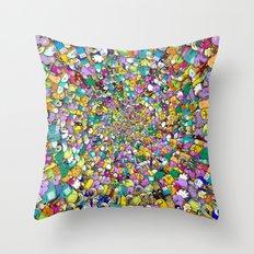 Adventure time swirl Throw Pillow