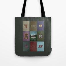 Twin Peaks colors Tote Bag