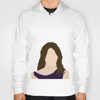 himym Hoodies featuring Robin Scherbatsky HIMYM by Rosaura Grant