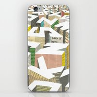 ilovedoodle iPhone & iPod Skins featuring The Capital by I Love Doodle